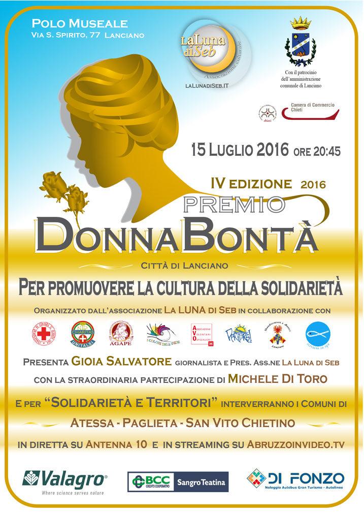 Premio Donna Bontà 2016